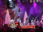 Mariah Carey - JOY TO THE WORLD (NBC Christmas at Rockefeller Center 2013)