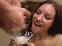 Yet time for a nice short clip: Jamie here desperately wants to fill her cocktail glass.