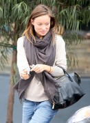 Olivia Wilde leaving Son Of A Gun Restaurant in West Hollywood in December 4th, 2013