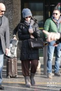 Katy Perry - Arriving At An Airport In Milan, Italy - Dec 5 2013