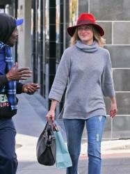 Ali Larter - Shopping in Beverly Hills 12/5/13