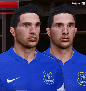 download Kevin Mirallas Face by Behin