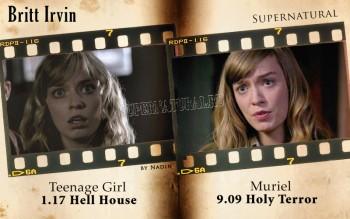 Актёры, игравшие в Сверхъестественном несколько ролей