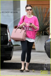 Lily Collins - Out in Beverly Hills 12/6/13