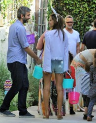 Alessandra Ambrosio - At an Easter Party in Brentwood 4/5/15