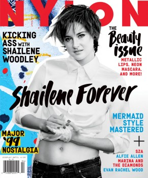 Shailene Woodley - NYLON Magazine (April '15) Cover + Photoshoot [MQ x 5]