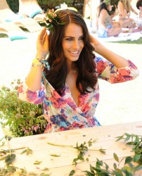 Jessica Lowndes - The Music Lounge, Presented By Mudd & Op in Palm Springs 4/12/15