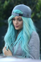 Kylie Jenner - Out for dinner at Mr Chow in Beverly Hills 4/12/15