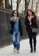 Vanessa & Stella Hudgens - Hanging out in NYC 4/13/15