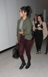 Selena Gomez - At LAX Airport 4/14/15