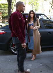 Kim Kardashian - Shopping in Paris 4/14/15