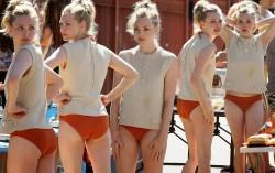 Amanda Seyfried, Deborah Ann Woll, Megan Fox, Robin Tunney, Scarlett Johansson (Wallpaper) 6x