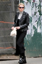 Emma Roberts - Out & About in NYC 4/14/15