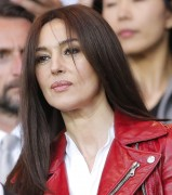 Monica Bellucci attends Paris SG vs FC Barcelona at Parc des Princes in Paris April 15-2015 x35