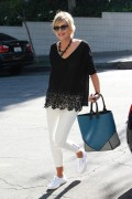 Sharon Stone makes a casual yet stylish arrival at the Sunset Marquis Hotel April 16-2015 x19
