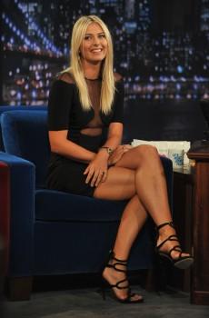 Maria Sharapova - Jimmy Fallon August 20, 2012