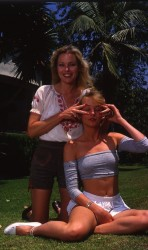 Michelle & Chynna Phillips: 80's Shoot - HQ x 3