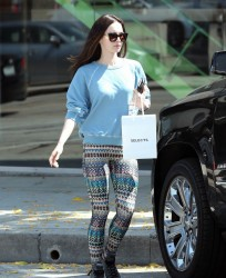 Megan Fox - Shopping in Beverly Hills 4/20/15