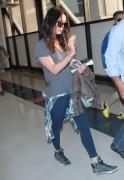 Megan Fox - At LAX Airport 4/23/15