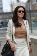 Angelina Jolie - Leaves Lincoln Center, New York 04/24/2015
