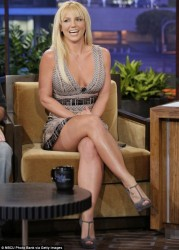 Britney Spears - Jay Leno 29 Oct 2012