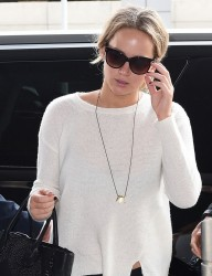 Jennifer Lawrence - At JFK Airport 5/5/15