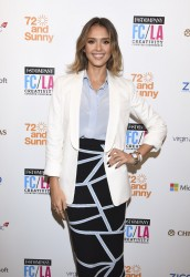 Jessica Alba - Fast Company Hosts First-Ever LA Creativity Counter Conference in LA 5/7/15