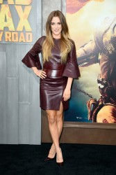 "Riley Keough - ""Mad Max: Fury Road"" Premiere in Hollywood 5/7/15"