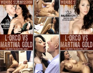 L'Orco Vs Martina Gold