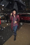 Catherine Bell seen in Manhattan on March 5, 2015 x3