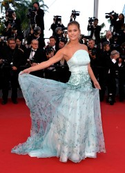 """Nina Agdal - """"Inside Out"""" Premiere during The 68th Annual Cannes Film Festival 5/18/15"""