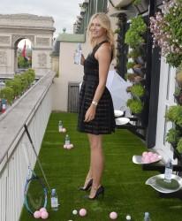 Maria Sharapova - Evian Sport Season at Maison du Danemark, Paris, May 18, 2015